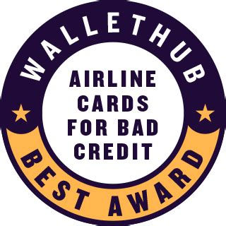 Credit cards can be a great way to earn free or cheap travel. 2020's Best Airline Credit Cards for Bad Credit