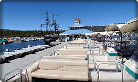 Boat Rentals In Big Bear by Pontoon Fishing Boats And Luxury Pontoon Rentals In Big