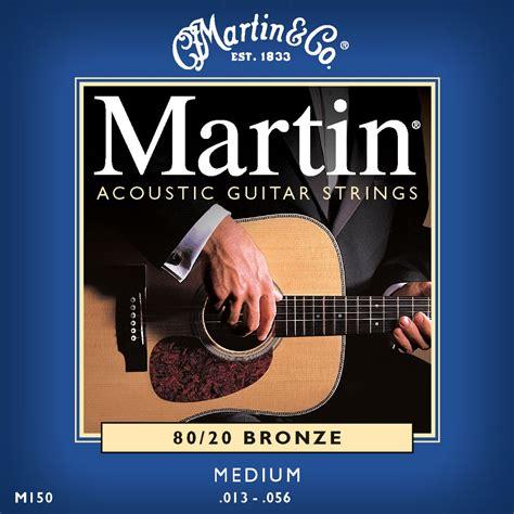 martin m150 medium acoustic guitar strings andy s