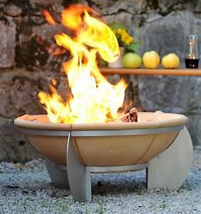 mit einem denk schmelzfeuer zur schonen und praktischen With französischer balkon mit garten feuer