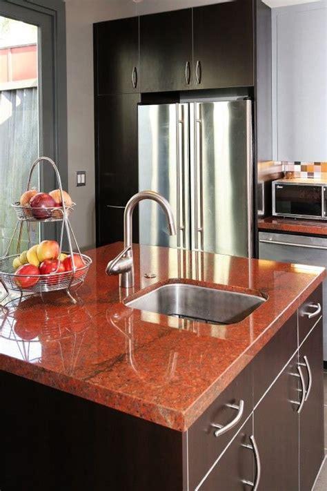 images  vibrant red granite kitchen