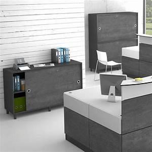 Armoire De Rangement Bureau : armoire de bureau design pour rangement et archivage gamme ondulo mobilier pour l 39 accueil ~ Melissatoandfro.com Idées de Décoration