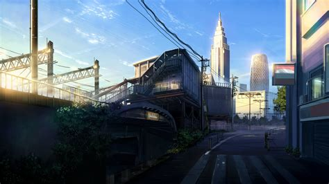 anime city wallpapers  background pictures