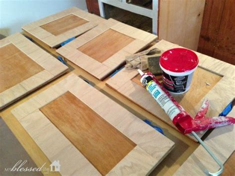 how to update flat kitchen cabinets how to update kitchen cabinet doors on a dime 8937