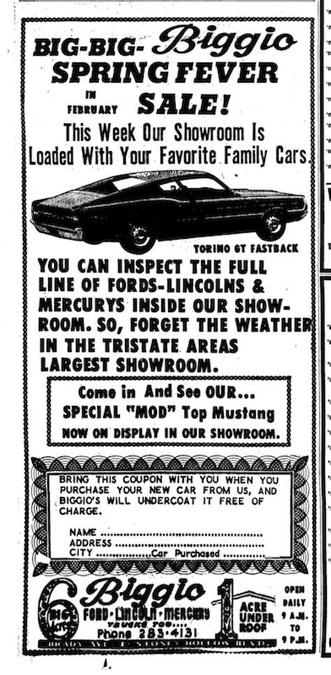 1968 Mustang Newspaper History