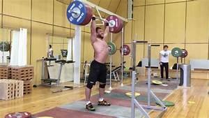 Dmitry Klokov 210kg Push Press
