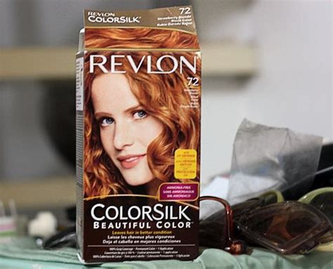 revlon colorsilk  stawberry blonde  favorite