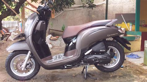 Review Honda Scoopy 2019 by Scoopy Warna Matte Brown 2019