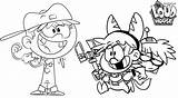 Loud Coloring Pages Fun Child Colouring Cute Cheerful Lincoln Nickelodeon Ages sketch template
