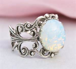 opal vintage engagement rings vintage opal engagement rings 2014 wedding inspiration