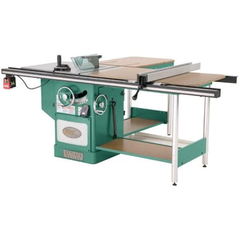 grizzly cabinet saw review grizzly g0652 10 5 hp 3 phase heavy duty cabinet table