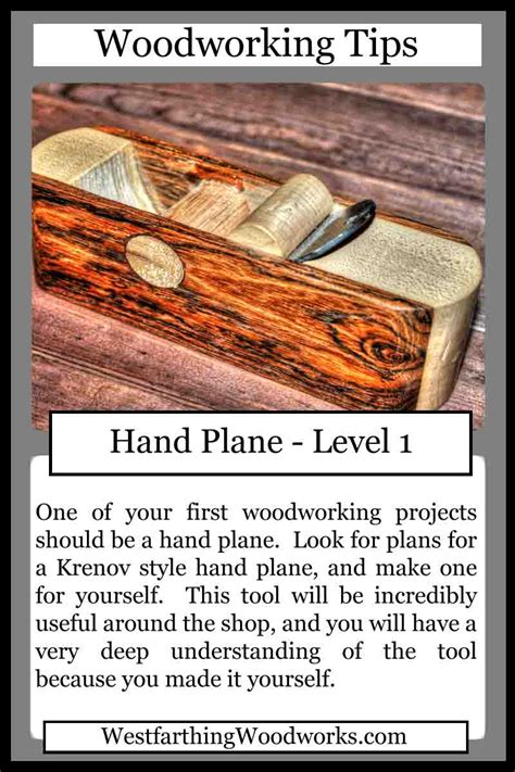 woodworking tips cards hand plane westfarthing woodworks