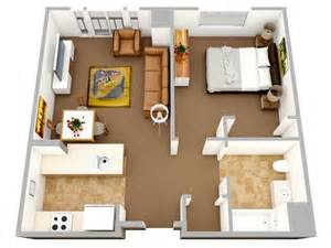 house plans with inlaw apartments plan 3d appartement 1 chambre 32