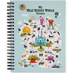 disney travel journal walt disney world   kids