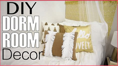 school dorm room decorating diy headboard