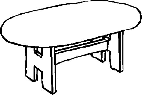 table clipart colouring page pencil   color table