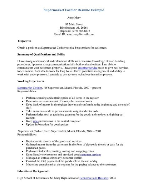 Sample Resume For A Retail Store Manager
