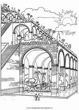 Coloring Pages Gate Garden Ishtar Club Books Babylon Recreation Outdoor Grade sketch template