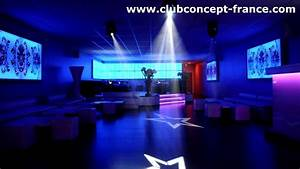 ab club concept decoration discotheque design le vogue With decoration boite de nuit