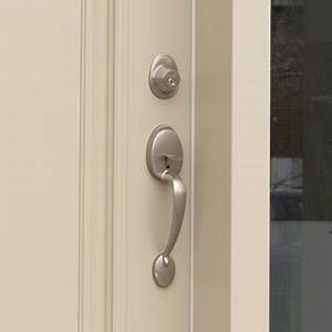 install an exterior door handle or lockset 1 rona With type de poignee de porte
