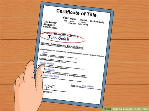3 Ways To Transfer A Car Title