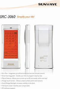 Sunwave Tech Src 3060 Users Manual