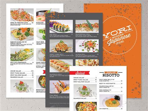 cuisine disigne yori modern japanese cuisine identity design