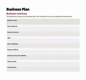 16 sample small business plans sample templates With very simple business plan template