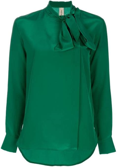 emerald green blouse coast weber ahaus sleeved blouse in green