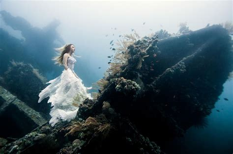 Shipwreck Bali by Models Dive 25 Meters To An Underwater Shipwreck In Bali
