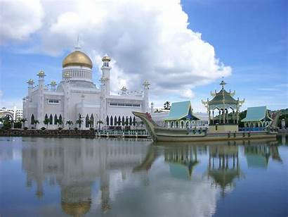 Brunei Mosque Panoramio Wikimedia Richest Countries Commons