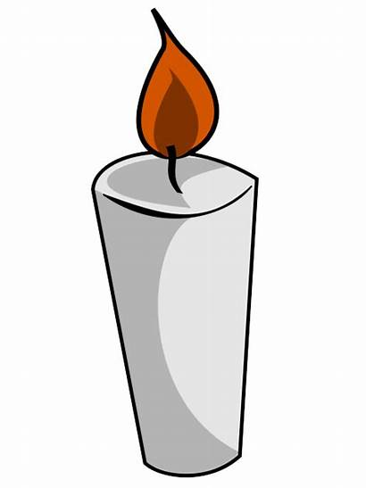 Candle Candles Clip Clipart Cartoon Cliparts Halloween