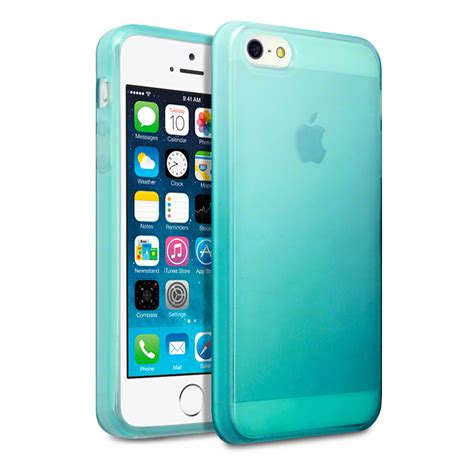 iphone 5s gel for new apple iphone se 5 5s blue tpu gel jelly cover