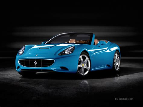cars ferrari blue 1230carswallpapers sky blue ferrari