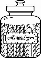 Candy Coloring Pages Sweets Jar Printable Colouring Mason Coloringpages101 Cliparts Sheets Clipart Template Jars Library Christmas sketch template