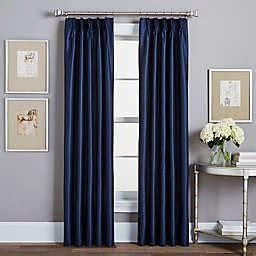 Pinch Pleated Drapes Traverse Rod - pinch pleat traverse rod curtains bed bath beyond