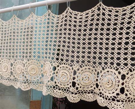 Free Curtain Crochet Patterns by Filet Crochet Curtains On Pinterest Crochet Curtains