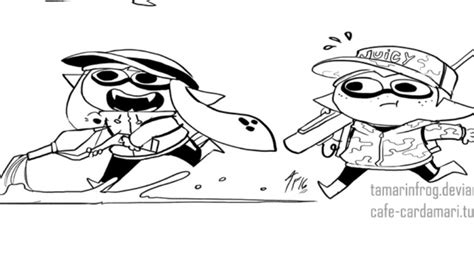 Splatoon Rainmaker Comic
