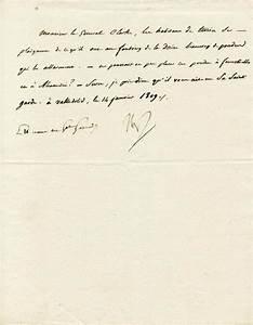 emperor napoleon bonaparte manuscript letter signed 01 With napoleon letters for sale