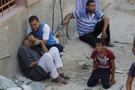 israel pushes   deadly airstrikes  gaza fires