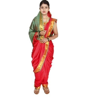traditional dress  maharashtra quora