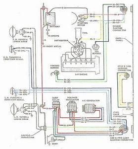 64 Chevy Color Wiring Diagram - The 1947