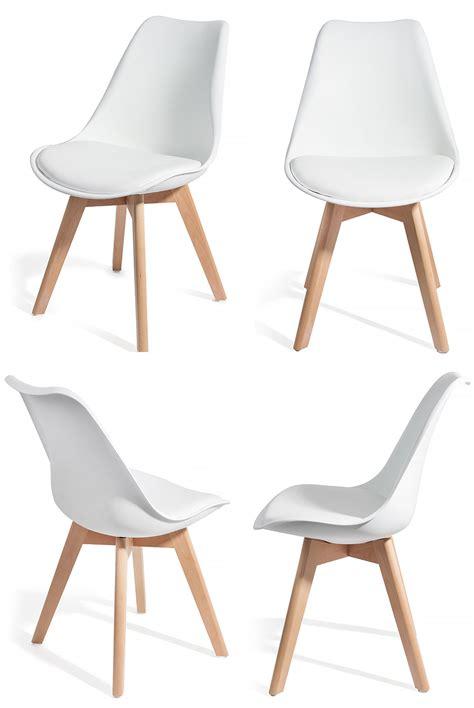 chaise desing 4 chaises brekka design contemporain nordique scandinave