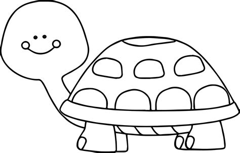 Coloring Turtle by Tortoise Turtle Coloring Page Wecoloringpage