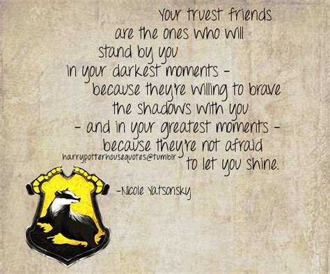 hufflepuff harry potter quotes quotesgram