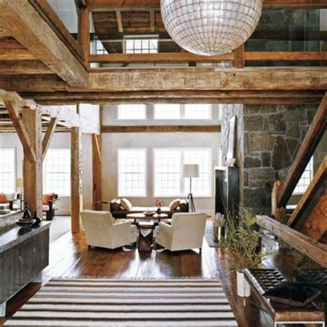 wood interior homes interior design with reclaimed wood and rustic decor in
