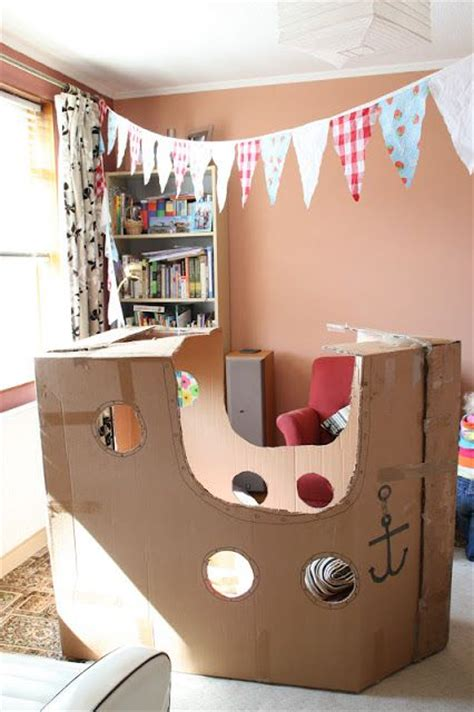 Pirate Ship Interior Design For 6 Year Boy by 302 Best Images About Cardboard Box Reggio