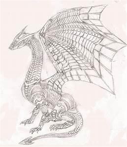 Robot dragon thing by Mirax3163 on DeviantArt