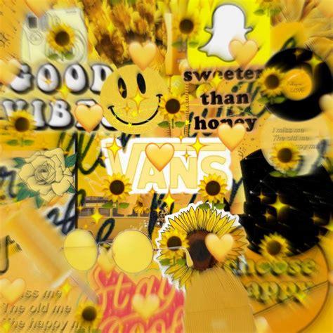 freetoedit yellow yellowaesthetic collage aesthetic bac