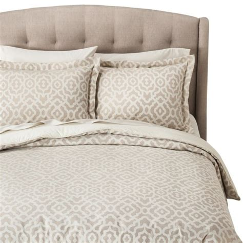 fieldcrest luxury bedding fieldcrest 174 luxury geometric comforter target